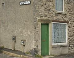 GreenDoor (Tony Tooth) Tags: nikon d7100 sigma 1750mm house cottage greendoor drab humdrum street streetcorner bradwell derbyshire