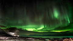 Aurora Abisko (Bernie Totten) Tags: abisko aurora northernlights northern lights arcticcircle arctic nikon d850
