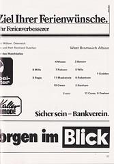 Grasshoppers Zurich vs West Bromwich Albion - 1981 - Page 19 (The Sky Strikers) Tags: grasshoppers zurich west bromwich albion wba brom sportplatz hardtum uefa cup programme fr 1