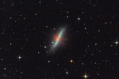 Cigar Galaxy - M82 (Astrolights.de) Tags: m82 messier82 cigargalaxy astrophotography zwoasi183mmpro starburst