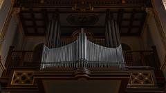 St. Laurentius (Edwin Lukas) Tags: orgel lumixs1r s1r 24105mm weinheim kirche orgelpfeifen innenansichten stadt