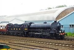Thompson B1 2164 . (steven.barker57) Tags: lner locomotive thompson b1 1264 preserved main line steam heritage train trains north east england yorkshire moors railway nymr loco