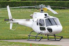 G-HITI -  2016 build Airbus Helicopters AS350 B3 Ecureuil, visiting the Airport side at Barton (egcc) Tags: 8239 as350 as350b3 airbushelicopters barton cityairport egcb ecureuil elstreeink ghiti h125 helicopter imgio lightroom manchester squirrel