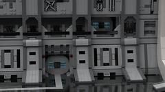 LEGO UCS Millennium Falcon Hangar (Ashlookk) Tags: lego starwars star wars hangar millennium falcon 75192 moc ucs docking bay launchpad