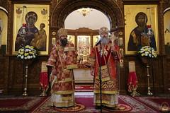 154. Божественная литургия в Успенском соборе 01.05.2019