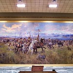 Helena Montana - House of Representatives - Lewis and Clark Meeting Indians at Ross' Hole thumbnail