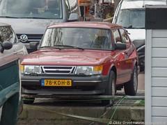 Amsterdam, april 2019 (Okke Groot - in tekst en beeld) Tags: noordermarkt sidecode7 78kdh8 prinsengracht amsterdam saab900i16v nederland