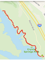 #Walking #SawyerCampTrail in #SanMateo #California (Σταύρος) Tags: wednesdayjanuary2 crystalspringspark gps map exercise hwy280 skylineblvd mapmywalk walking sawyercamptrail sanmateo california kalifornien californië kalifornia καλιφόρνια カリフォルニア州 캘리포니아 주 cali californie northerncalifornia カリフォルニア 加州 калифорния แคลิฟอร์เนีย norcal كاليفورنيا