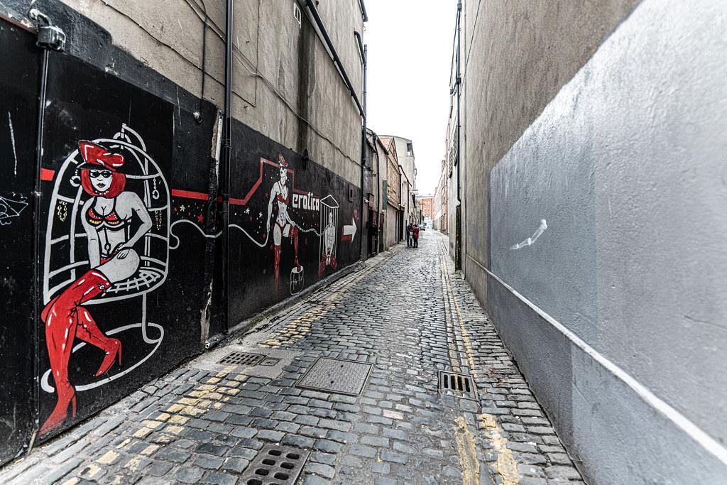 UPPER JERVIS LANE IN DUBLIN [OFF MARY STREET]-152096