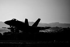 F-18 ALANº12 (joseramongonzalez544(Checha)) Tags: ala12 ejercito español f18 nikon nikkor 500mm avion hornet aviation blanco y negro contraluz