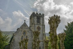 StBarnabas (Tony Tooth) Tags: nikon d7100 sigma 1750mm church stbarnabas victorian pollarded tower hdr bradwell derbyshire
