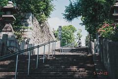 at Uehonmachi  @上六〜四天王寺 愛染坂 近隣 (Sorakiyo) Tags: 業務用100 f80s nikon film フィルム