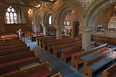 180-20180714_Weston under Penyard Church-Herefordshire-view from Pulpit (Nave, SE corner)-down Nave to W end of Church-N Aisle on R (Nick Kaye) Tags: westonunderpenyard herefordshire england church