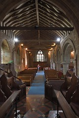 178-20180714_Weston under Penyard Church-Herefordshire-view from in front of Sanctuary back down Chancel and Nave to W end of Church (Nick Kaye) Tags: westonunderpenyard herefordshire england church