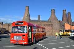 PMT 207 PVT207L (Will Swain) Tags: gladstone pottery museum during pmt running day 21st october 2018 preserved heritage bus buses transport travel uk britain vehicle vehicles county country england english stoke trent stokeontrent 207 pvt207l
