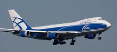 B747   VP-BIJ   AMS   20090524 (Wally.H) Tags: boeing 747 boeing747 b747 vpbij airbrigdecargo ams eham amsterdam schiphol airport