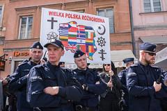 untitled (gregor.zukowski) Tags: warsaw warszawa street demonstration protest poland polska ue eu 15latplwue