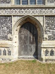 West Door, Walberswick (Aidan McRae Thomson) Tags: walberswick church suffolk medieval