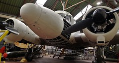 AVRO ANSON YORKSHIRE AIR MUSEUM ELVINGTON (toowoomba surfer) Tags: aircraft aviation aeroplane museum airmuseum aviationmuseum