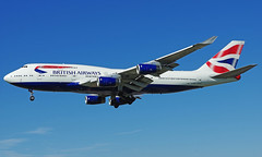 G-CIVU (b) 09/04/17 Heathrow (EGLL) (Lowflyer1948) Tags: gcivu boeing b747436 090417 heathrow cranford britishairways
