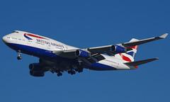 G-CIVX (b) 29/12/14 Heathrow (EGLL) (Lowflyer1948) Tags: gcivx boeing b747436 291214 heathrow cranford britishairways