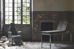 Ospedale V (Sean M Richardson) Tags: abandoned hospital dark decay details texture light color italia shadows canon photography explore travel urbex