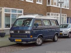Amsterdam, april 2019 (Okke Groot - in tekst en beeld) Tags: griseldestraat 54gnf6 vwtyp2t3transporter campers volkswagen amsterdam sidecode7 nederland