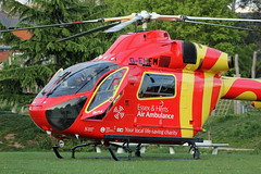 G-EHEM Essex & Herts Air Ambulance (kertappa) Tags: img8306 air ambulance herts hertfordshire essex hems doctor paramedics hospital gehem emergency helicopter harwoods adventurous playground watford