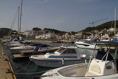 Llafranc (O'Bydalej) Tags: llafranc spain catalonia coast costabrava mediterranean marina boats sailing