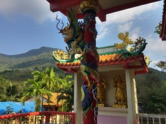 Chinese Temple of Mercy in Koh Phangan (keepitsurreal) Tags: kohphangan thailand 2018 chinese temple mercy boddhisattva meditation mindfulness khaora paradise philosophy taoism dragon art sacredart