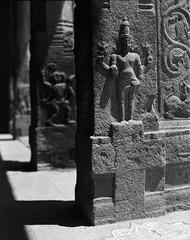 (Jerry501) Tags: onfilm pentax67 travel india temple ancient film expired kodak125px analog bnw monochrome blackandwhite