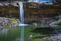 Alcove Springs Park (Browtine1) Tags: ngc spring alcove springs kansas blue rapids oregon trail waterfall creek
