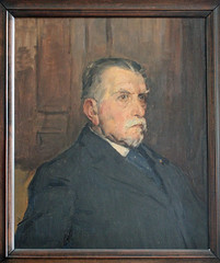 Dr. George Herman Hintzen (1851-1932) by Isaac Israels, 1920s