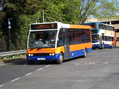 Centrebus Optare Solo 378 YJ06 FXP (Alex S. Transport Photography) Tags: bus outdoor road vehicle centrebus optare solo route60 378 yj06fxp