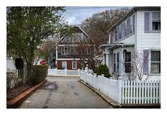 Side Street (Timothy Valentine) Tags: ptown capecod 0419 large friday 2019 datesyearss fence provincetown massachusetts unitedstatesofamerica