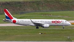 F-HBLG E190 HOP!