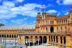 Plaza de España Sevilla (GiulianoBR) Tags: seville sevilla spain europe plaza 2019 canon travel españa espanha