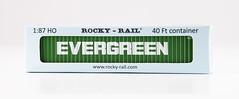 🚛 RockyRail 40' 45G1 EMCU9451569 box (EVERGREEN) (msslovi0) Tags: 40 ho h0 container 45g1 rockyrail evergreen klv kv ukv intermodal dry