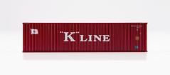 🚛 RockyRail 40' 45G1 KKFU7213393 side1 (K-LINE) (msslovi0) Tags: 40 ho h0 container 45g1 rockyrail kline klv kv ukv intermodal dry