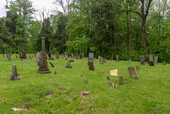 Red Oak Cemetery — Union Township, Brown County, Ohio (Pythaglio) Tags: cemetery redoak presbyterian historic early graves stones gravestones trees ripley ohio unitedstatesofamerica markers browncounty uniontownship grass stone