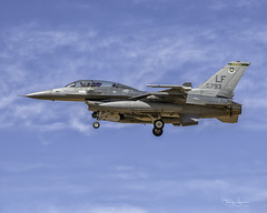 United States Air Force General Dynamics F-16DM-42-CF 90-0793 (Hawg Wild Photography) Tags: united states air force general dynamics f16dm42cf 900793 310th fighter squadron tophats lukeairforcebase major mark bags warner usaf terrygreen nikon d850 hawg wild photography sigma 150600mm contemporary