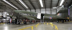 DAKOTA IV - C47 YORKSHIRE AIR MUSEUM ELVINGTON (toowoomba surfer) Tags: aviation aircraft aeroplane museum airmuseum aviationmuseum