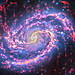 Starburst Galaxy Messier 100, variant