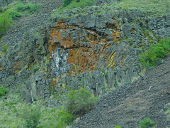Basalt Formation in Umtanum Canyon (Pictoscribe) Tags: pictoscribe umtanum yakima river canyon basalt formations