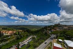 Montalcino - Tuscany (stefano.sedrani1) Tags: castle hill sky cloudy clouds scene panorama tuscany montalcino nikon italy beautiful scenery city landscape