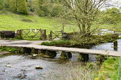 Clapper Bridge, Youlgrave (Kingsley_Allison) Tags: youlgrave peakdistrict derbyshire bakewell riverbradford walkers ramblers clapperbridge nikon d7200 bradforddale