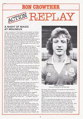 Manchester United vs Wolverhampton Wanderers - 1983 - Page 9 (The Sky Strikers) Tags: manchester united wolverhampton wanderers wolves canon league division one review official season programme old trafford 30p