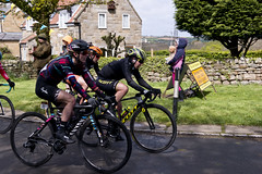 TDY 2019 - Stage 3 - Bridlington - Scarborough (Simon Caunt) Tags: ©️simoncaunt d800 nikond800 nikoncameras nikondslr 240700mmf28nikkor afsnikkor2470mmf28 ugglebarnby northyorkshiremoors northyorkshire northyorkshiremoorsnationalpark cycling bicyclerace tdy2019 tourdeyorkshire2019 ladiesrace rainyday eeehbutitsgrimupnorth itsgrimupnorth