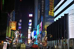 NYC - City night colors (ricardocarmonafdez) Tags: nyc newyork city cityscape ciudad nightshot lights lighting darkness colores colors highiso nikon