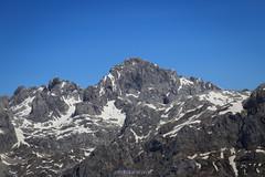 Peña Santa de Castilla desde el pico Jario. (copelius38) Tags: montaña mountain pico nieve snow landscape trekking paisaje roca rock asturias picosdeeuropa